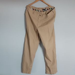 Mens Tommy Hilfiger Linen Cotton Pants 42x32